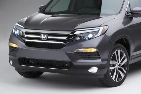 Honda представит кроссовер Pilot на автосалоне в Чикаго