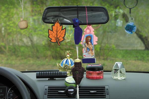 Виды автомобильных освежителей воздуха