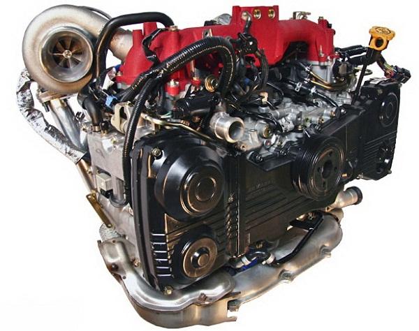 Что собой представляет оппозитный двигатель?