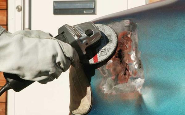 Как удалить ржавчину с автомобиля?