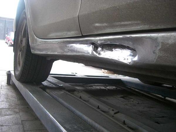 Ремонт порогов автомобиля