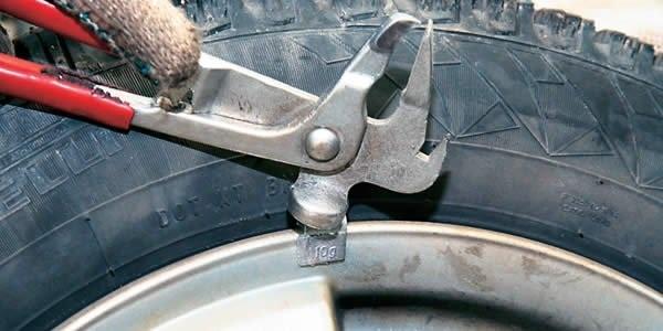 Балансировка колёс своими руками