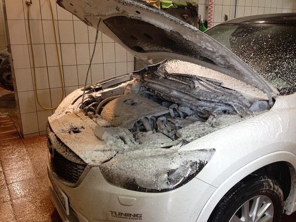 Что делать если не заводиться после мойки двигателя машина?