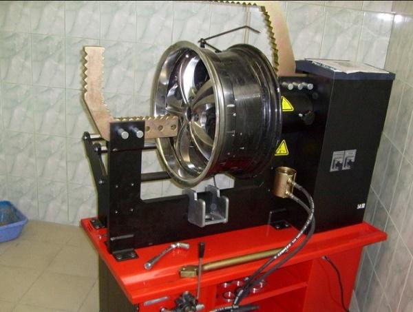 Ремонт литых дисков своими руками
