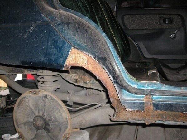 razrushitelnoe deystvie rzhavchinyi - Чем защитить пороги автомобиля от ржавчины