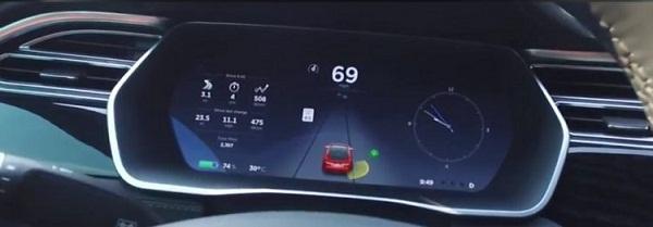 Tesla Model S показал 50% эффективность систем безопасности