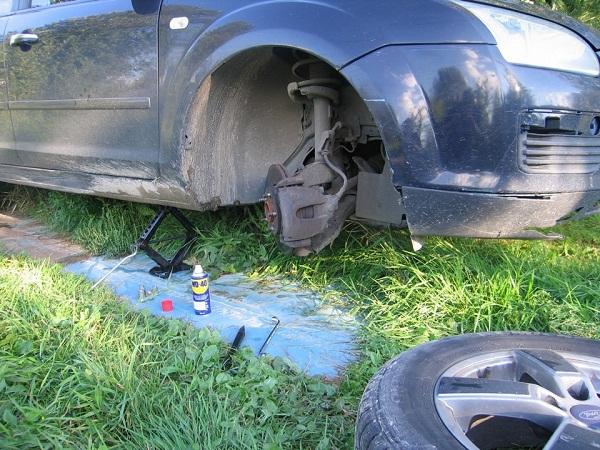 Замена рулевой тяги форд фокус 2 своими руками