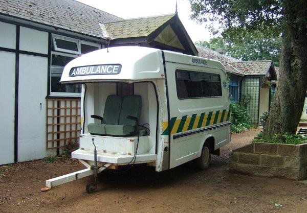 Пять уникальных машин скорой помощи