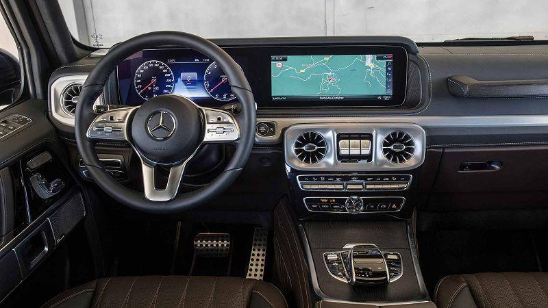 Салон Mercedes Gelandewagen 2020